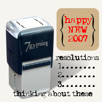 Resolutions2007